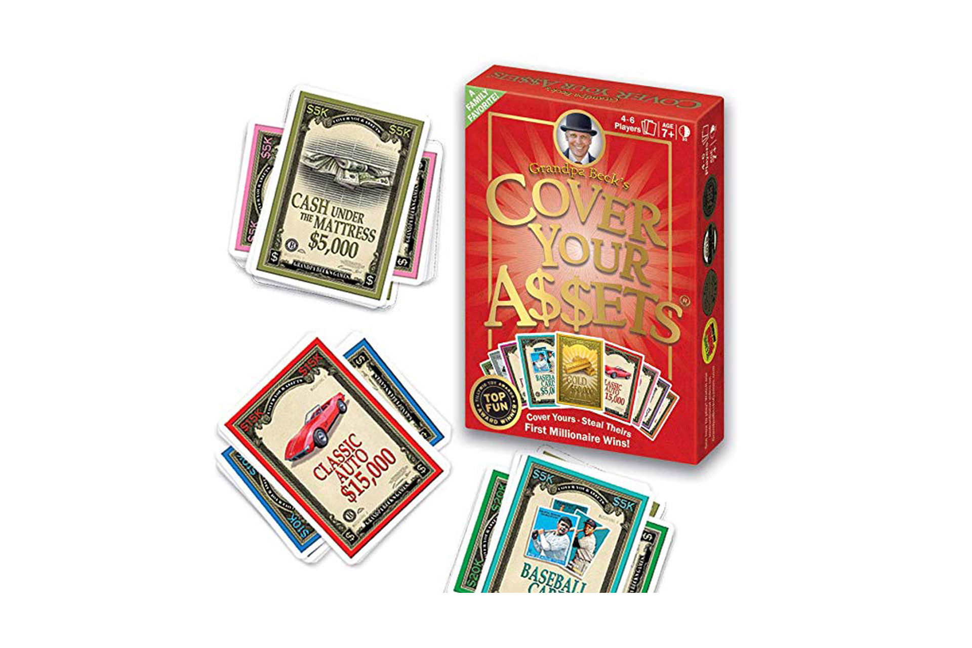 Cover Your Assets Card Game; Courtesy of Amazon
