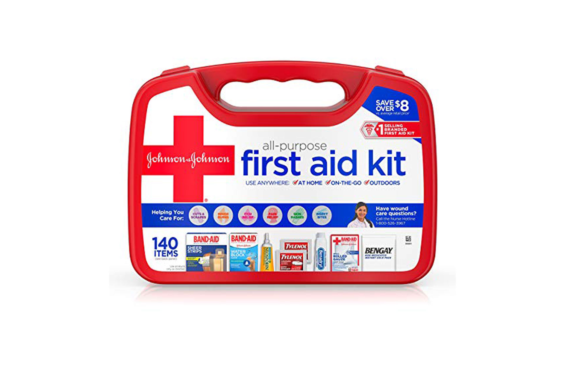 First Aid Kit; Courtesy of Amazon