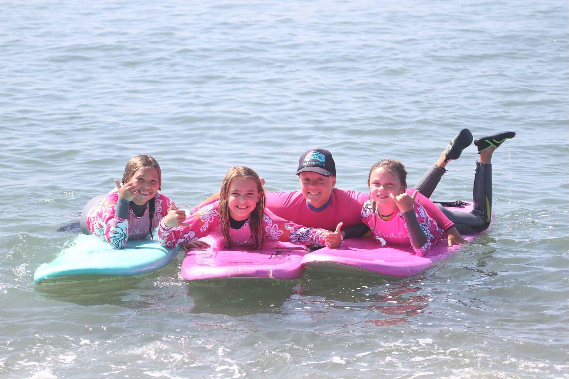 Girl in the Curl Surf School in Dana Point, CA; Courtesy Girl in the Curl Surf Shop