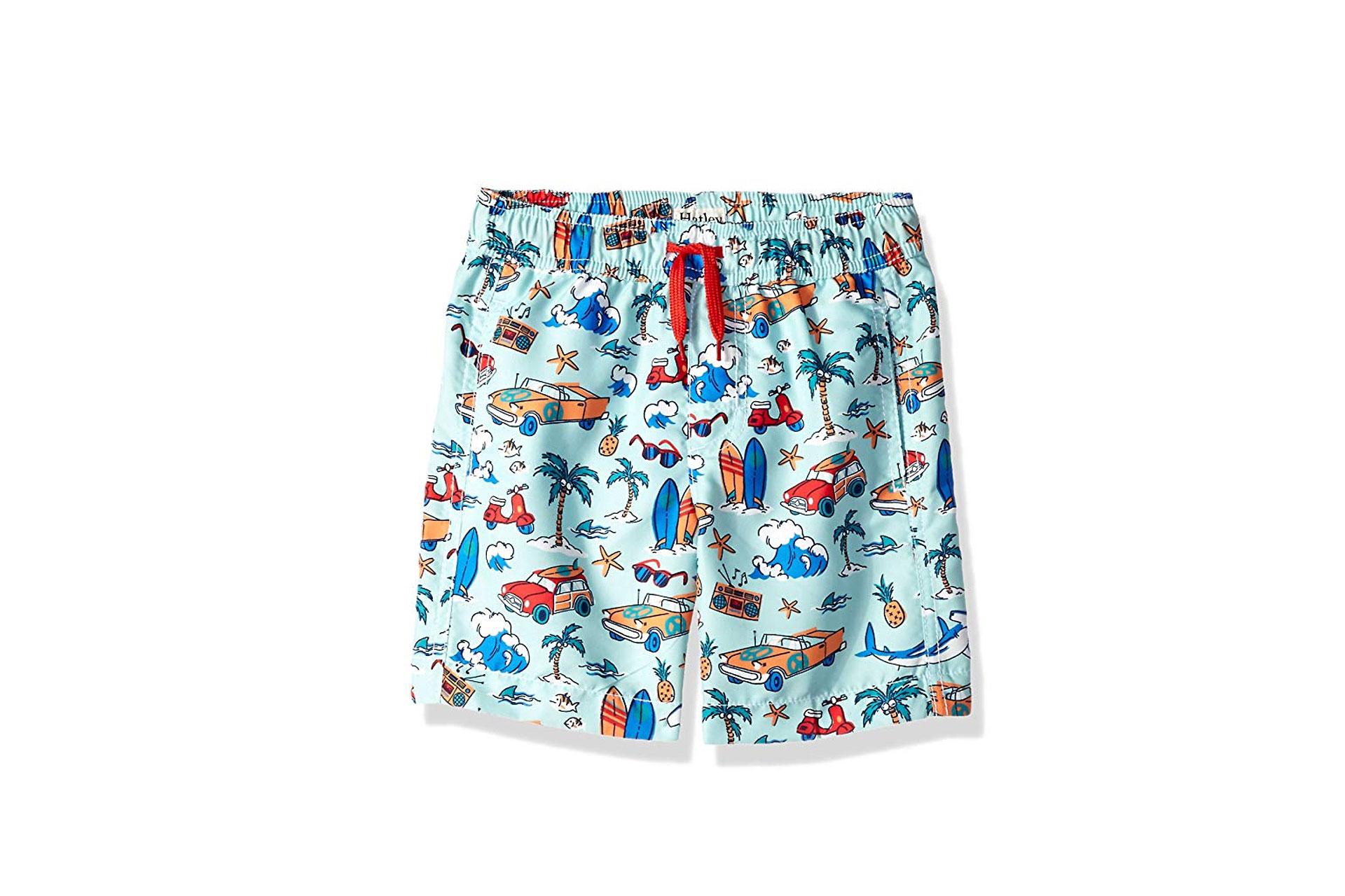 Hatley Boys Swim Trunks; Courtesy of Amazon