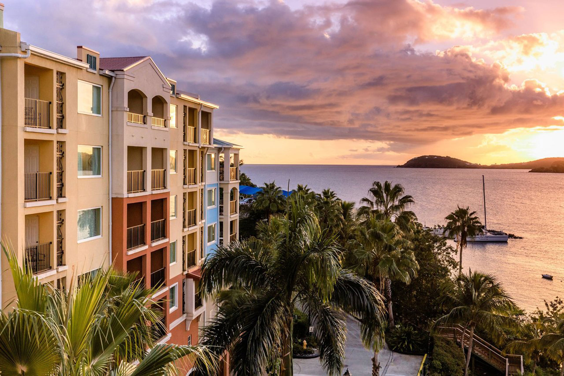 Marriott's Frenchman's Cove in St. Thomas; Courtesy of Marriott's Frenchman's Cove