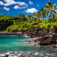Maui Black Sand Beach; Courtesy of Shane Myers Photography/Shutterstock.com