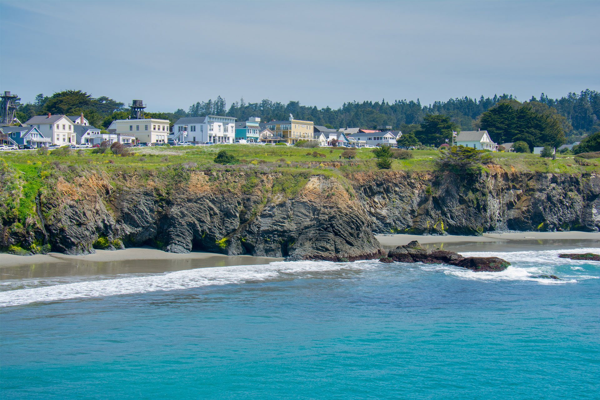 Mendocino, California; Courtesy of picchu productions/Shutterstock.com