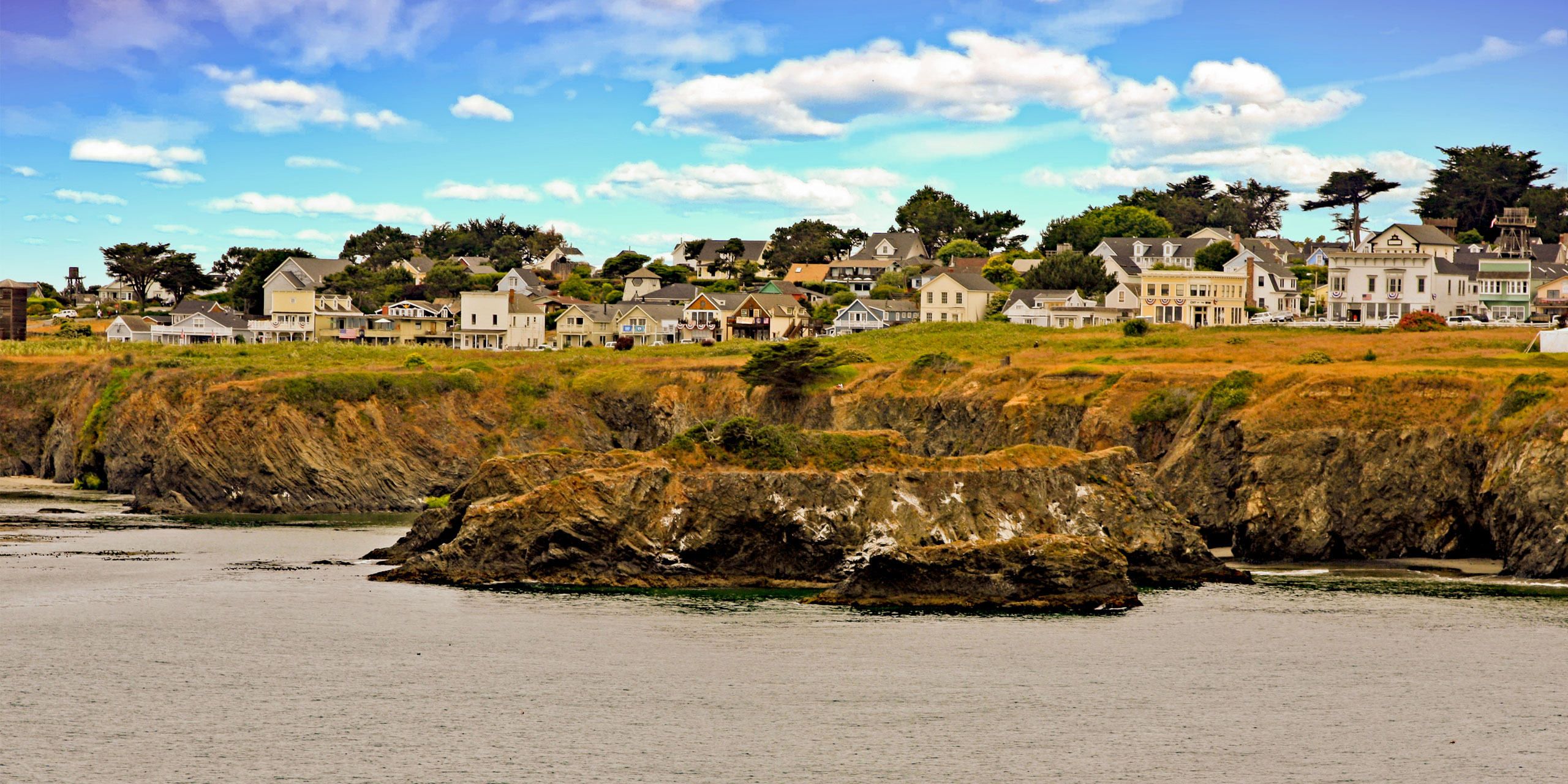Mendocino, California; Courtesy of Thomas Barrat/Shutterstock.com