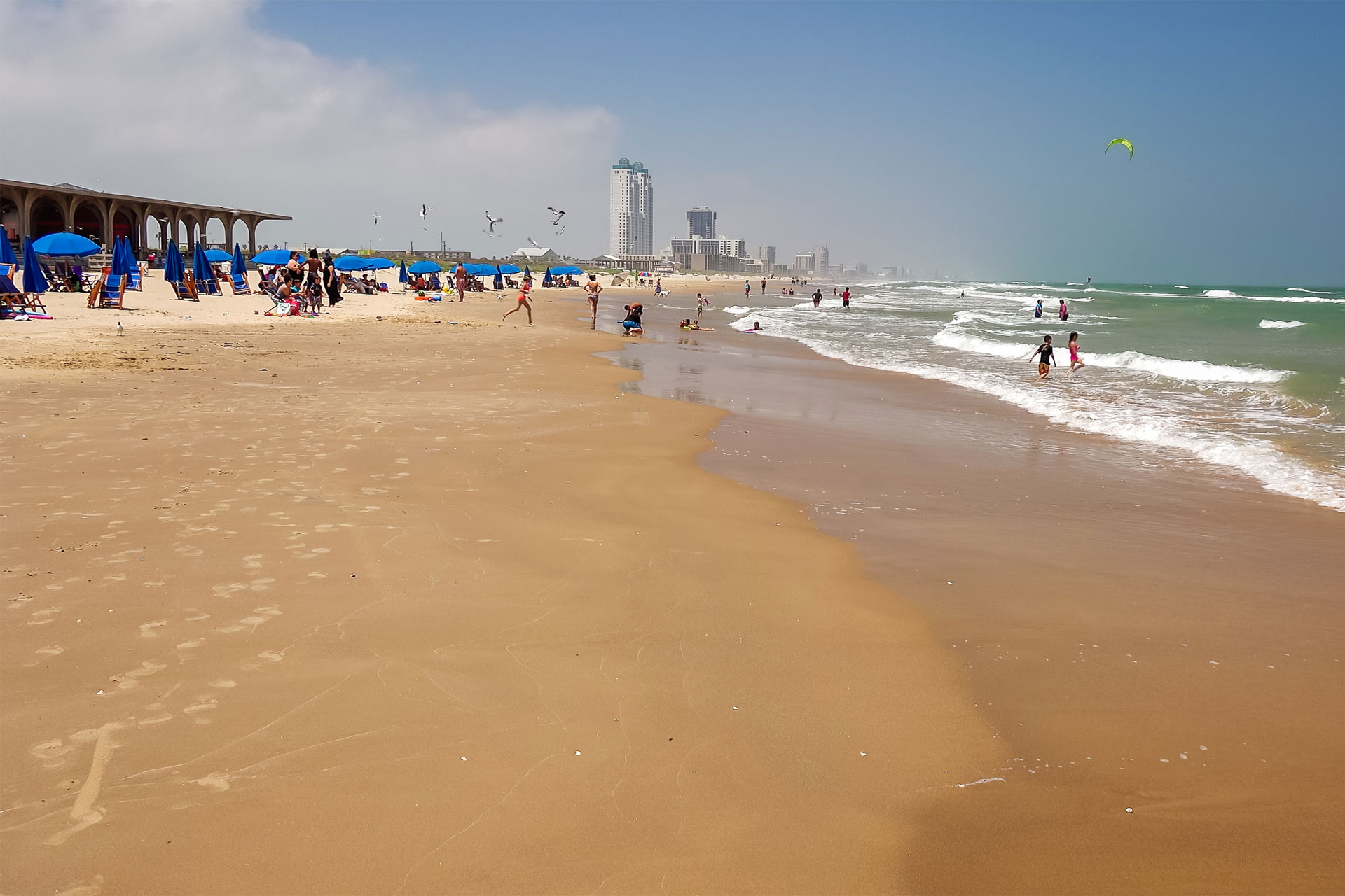 South Padre Island beach; Courtesy of CrackerClips Stock Media/Shutterstock.com