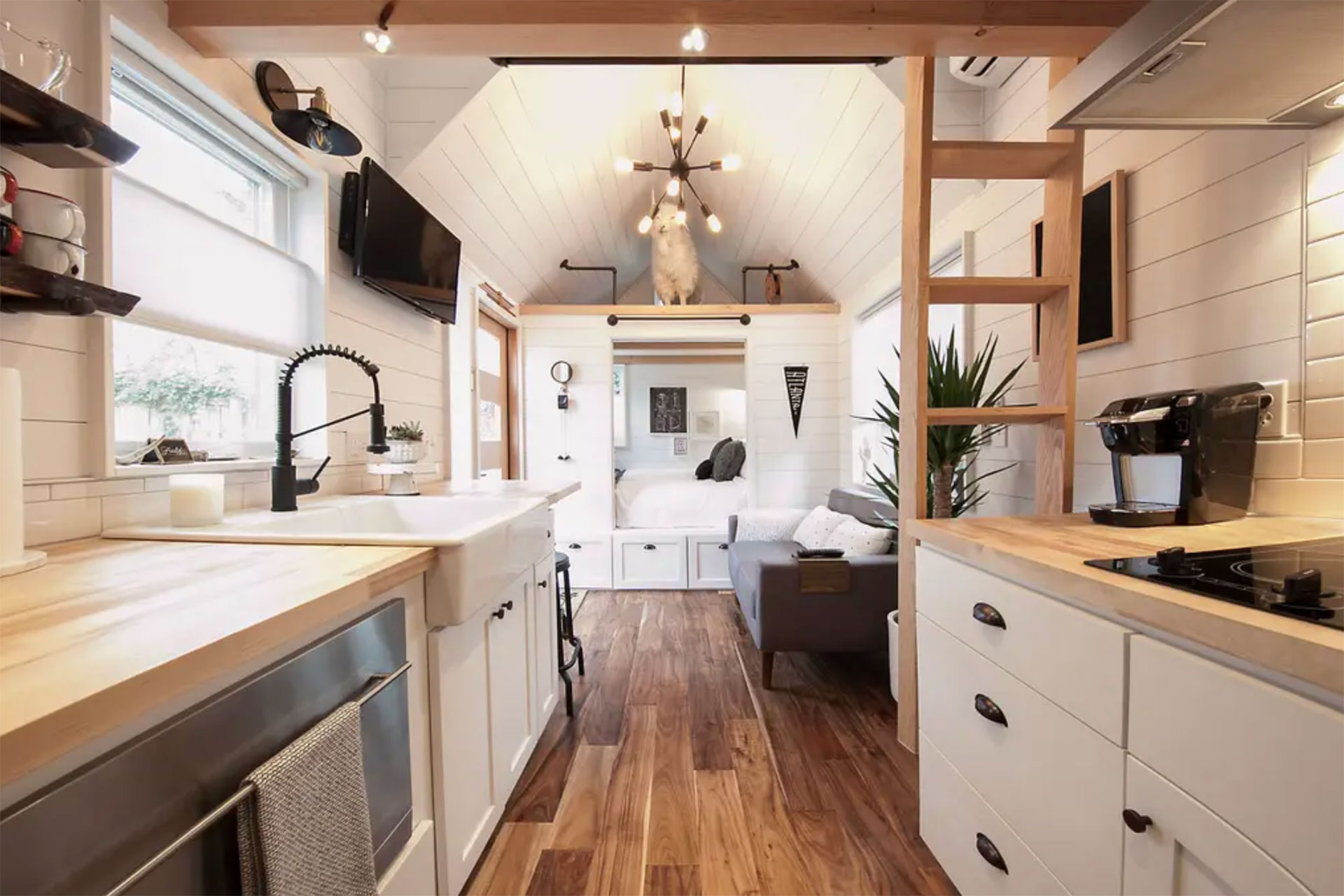 Tiny House on Airbnb; Courtesy of Airbnb