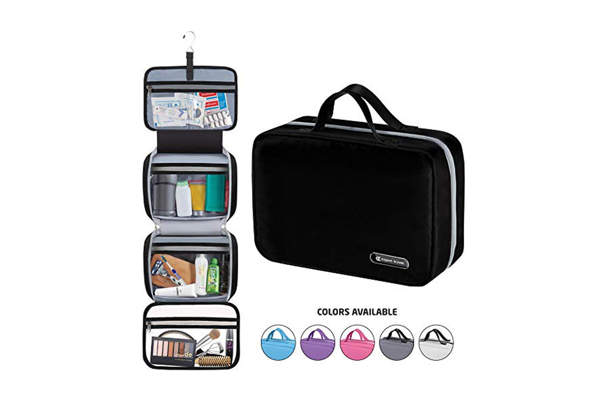 Toiletry Bag; Courtesy of Amazon
