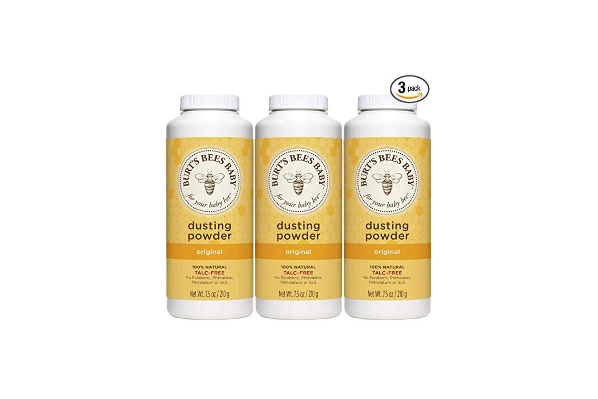 Talc-Free Burt's Bees Baby Powder; Courtesy of Amazon