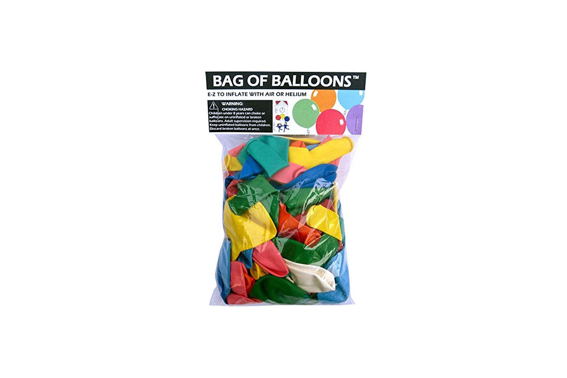 Balloons; Courtesy of Amazon