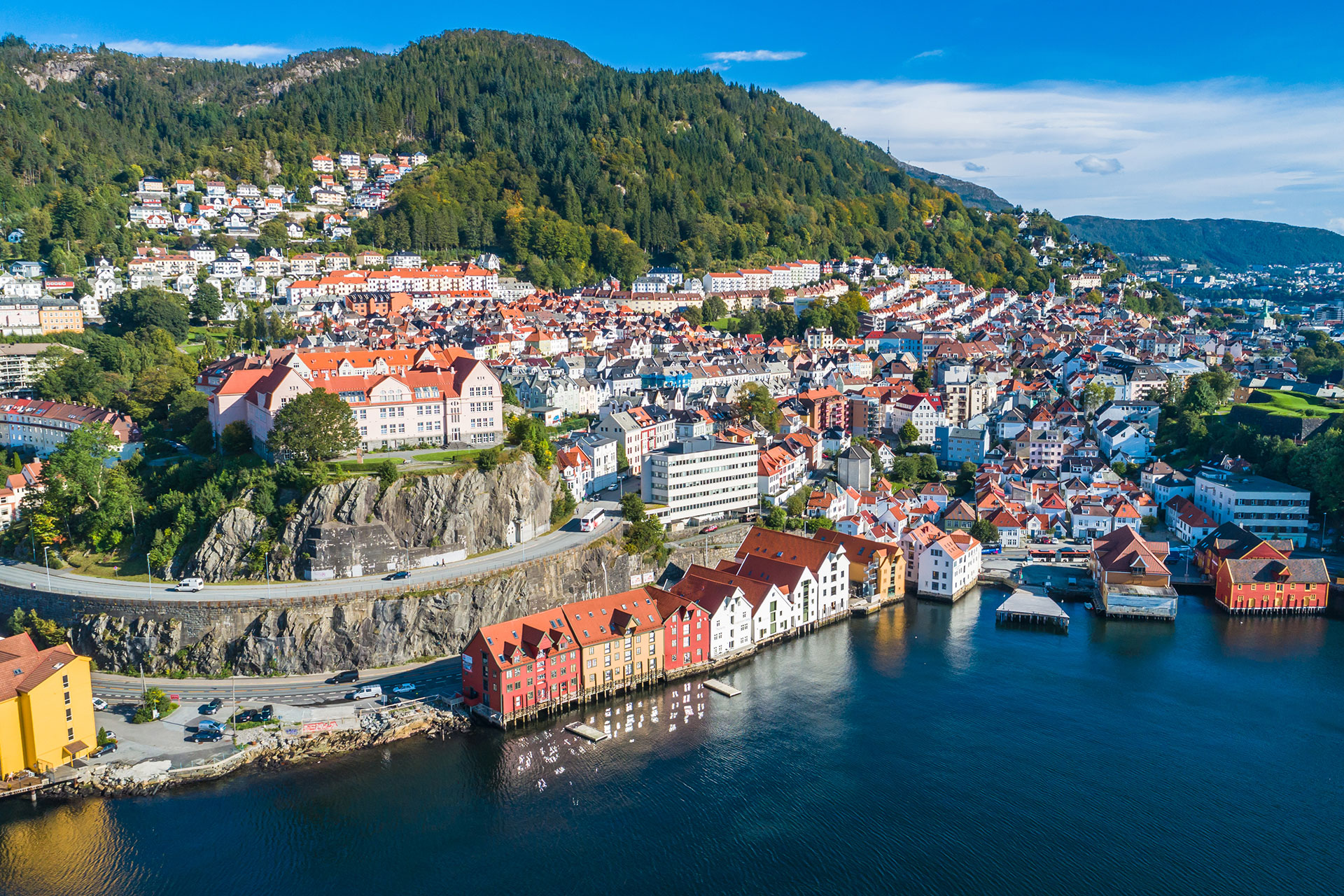 Bergen, Norway; Courtesy of Marius Dobilas/Shutterstock.com