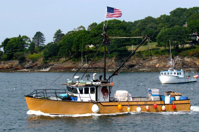 Chebeague Island Maine; Courtesy of quiggyt4/Shutterstock.com