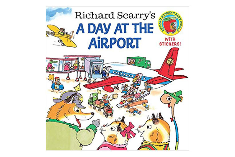 A Day At the Airport Kids Book; Courtesy of Amazon
