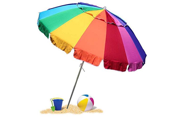 EasyGo Beach Umbrella; Courtesy of Amazon