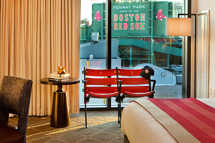 Fenway Park View Suite at Hotel Commonwealth in Boston