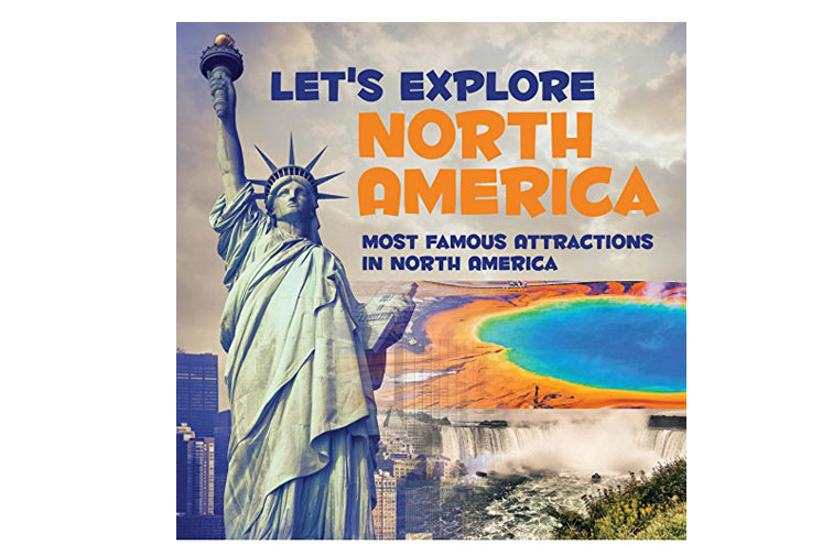 Lets Explore North America Kids Book; Courtesy of Amazon