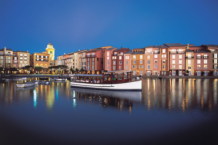 Loews Portofino Bay Hotel; Courtesy of Universal Orlando Resort