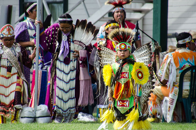 Native American Pow Wow and Dance in Sheridan, Wyoming
