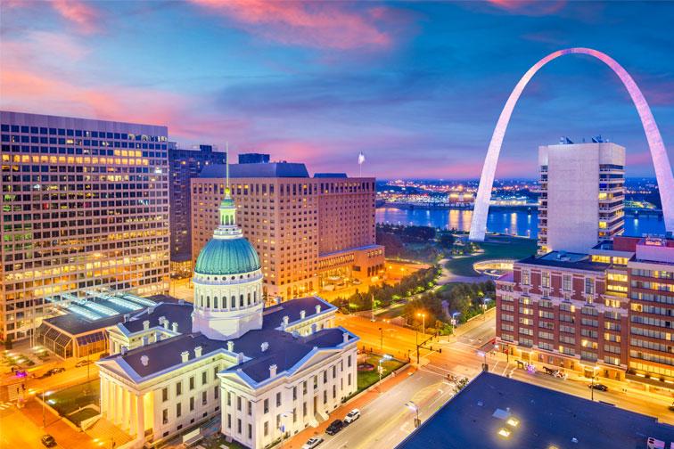 St. Louis Missouri; Courtesy of Sean Pavone/Shutterstock.com