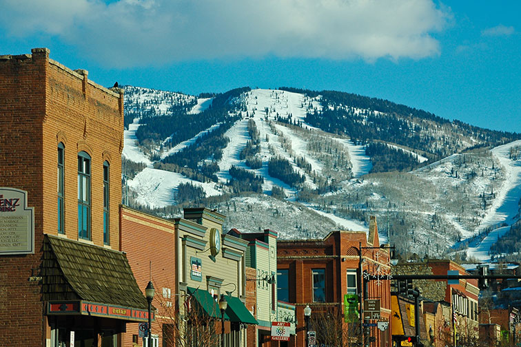 Downtown Steamboat Springs, Colorado