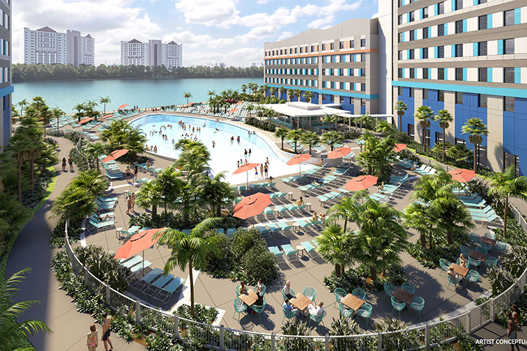 Universal's Endless Summer Resort; Courtesy of Universal Orlando Resort