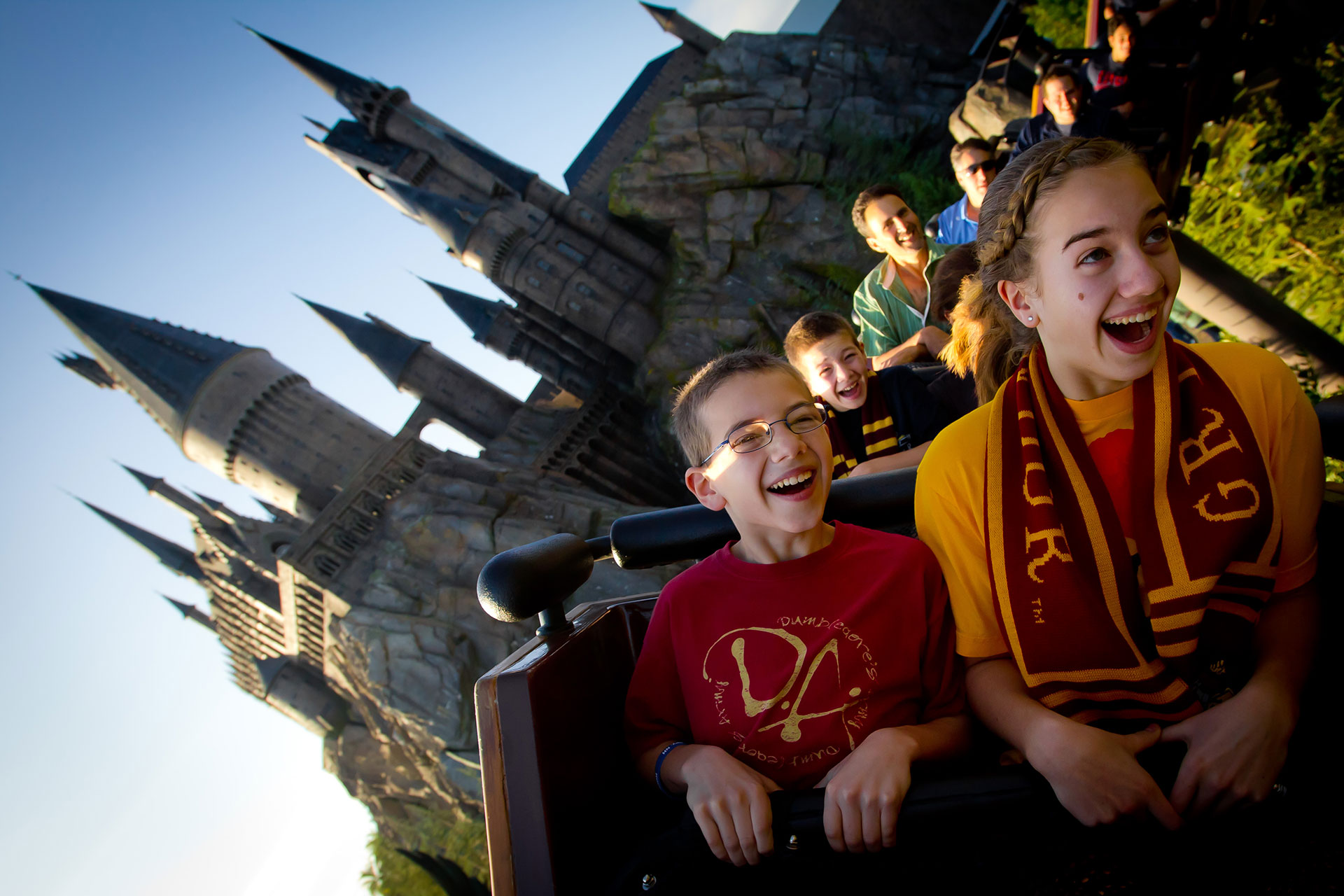 Flight of Hippogriff at Wizarding World of Harry Potter in Orlando; Courtesy of Universal Orlando Resort