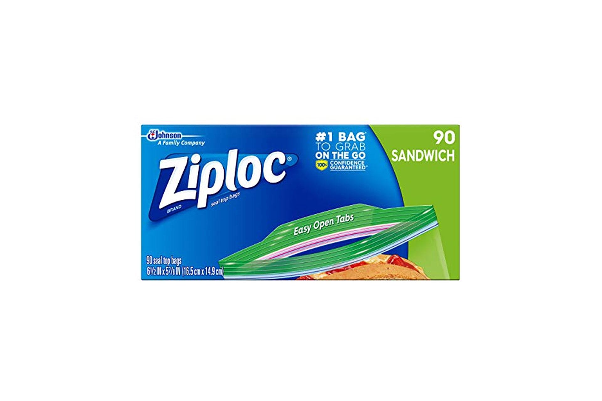 Ziploc Bags; Courtesy of Amazon