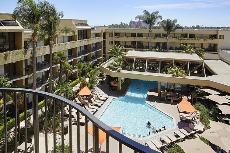 Anaheim Marriott; Courtesy of Anaheim Marriott