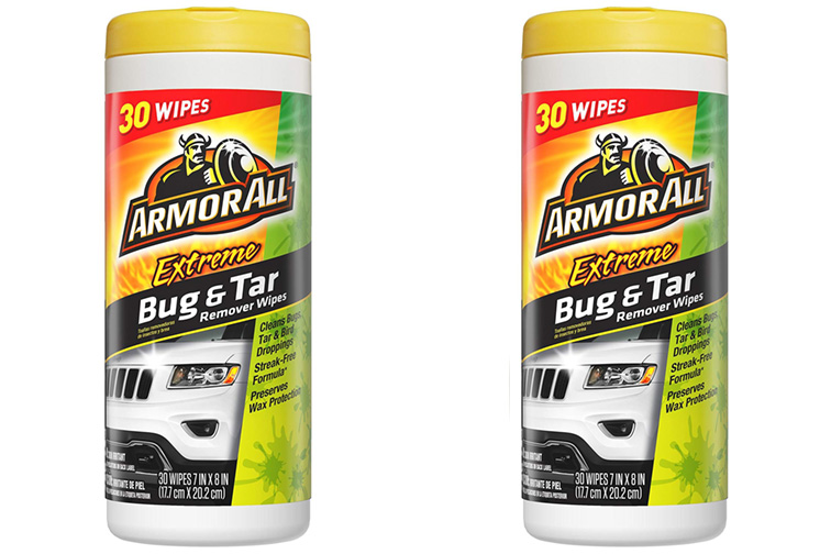 Armor All Extreme Bug & Tar Remover Wipes; Courtesy of Amazon