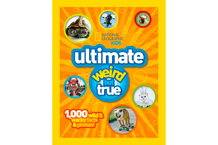 National Geographic Kids: Ultimate Weird but True, 10,000 Wild and Wacky Facts and Photos; Courtesy of Amazon