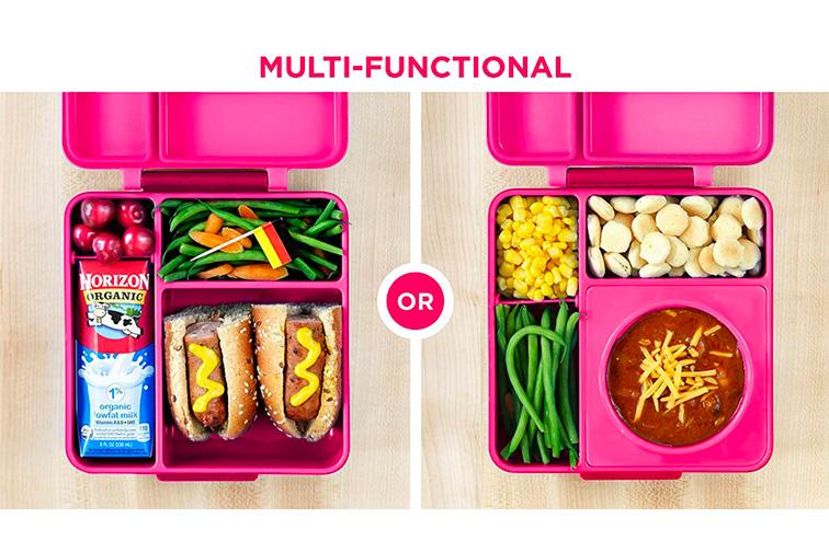 OmieBox Bento Box for Kids; Courtesy of Amazon