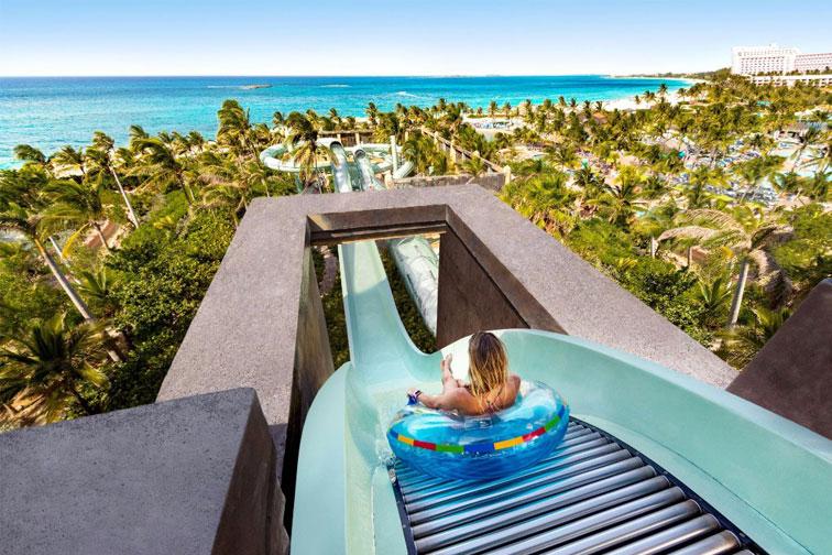 Aquaventure at Atlantis, Paradise Island in the Bahamas