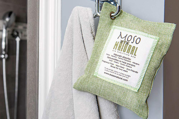 The Moso Natural Air Purifying Bag; Courtesy of Amazon