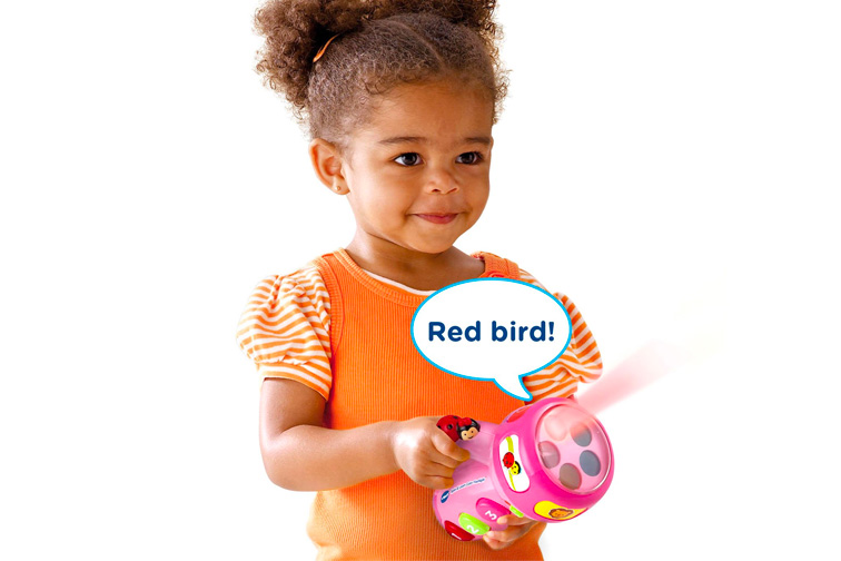VTech Spin and Learn Color Flashlight; Courtesy of Amazon