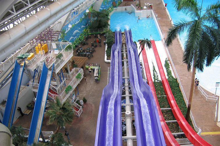 World Water Park in Edmonton, Canada