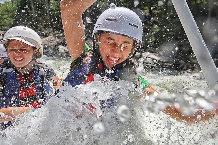 Whitewater Rafting at Adventures on the Gorge