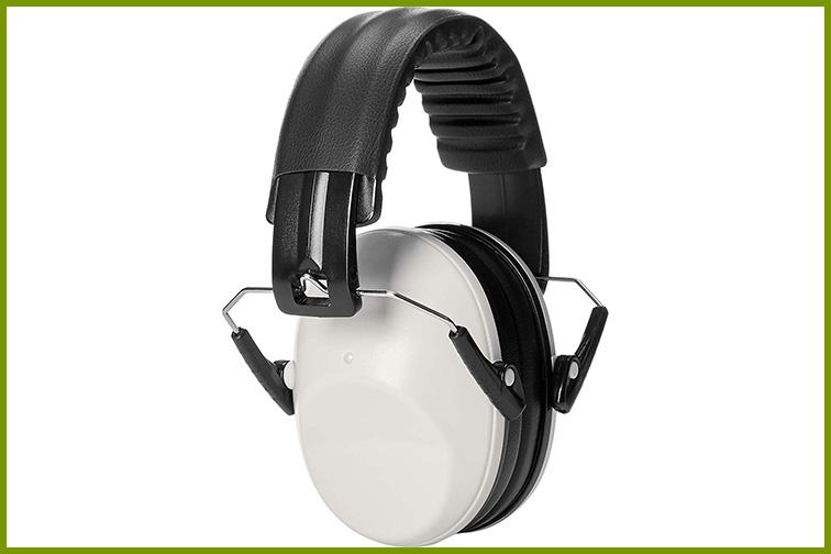 AmazonBasics Kids Safety Noise Earmuffs; Courtesy of Amazon