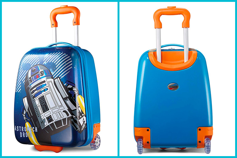 American Tourister Kids Luggage; Courtesy of Amazon