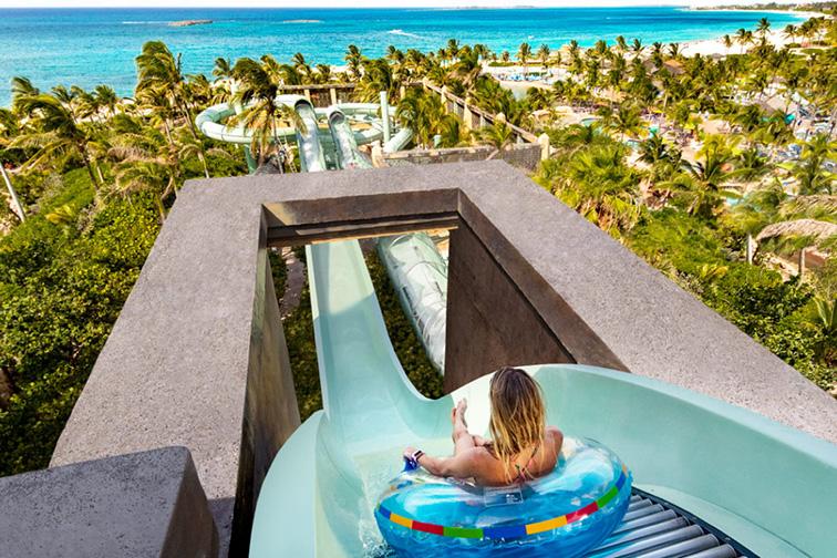 Atlantis Aquaventure Park at Atlantis, Paradise Island in the Bahamas
