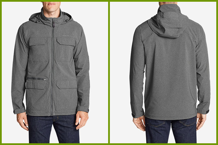 Atlas Stretch Hooded Jacket; Courtesy of Eddie Bauer