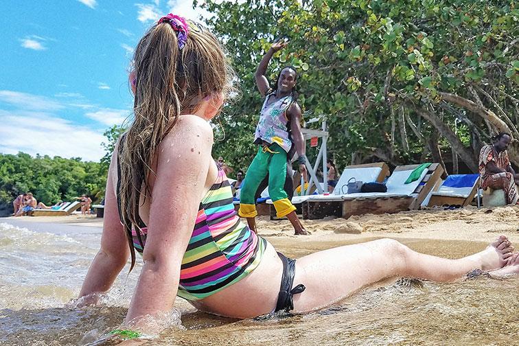 Bamboo Beach Club in Ocho Rios, Jamaica