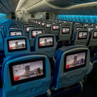 New Delta Screen Seatbacks; Courtesy of Delta Airlines