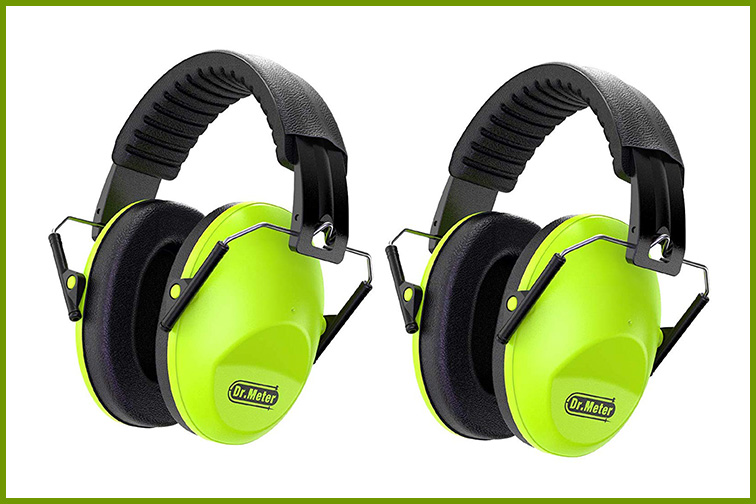 Dr. Meter EM100 Kids Protection Earmuffs with Noise Blocking; Courtesy of Amazon