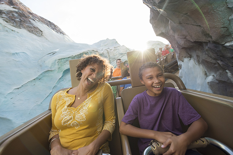 The fearsome legend of the yeti comes to life in this thrill attraction — Expedition Everest — at Disney's Animal Kingdom; Courtesy of Walt Disney World