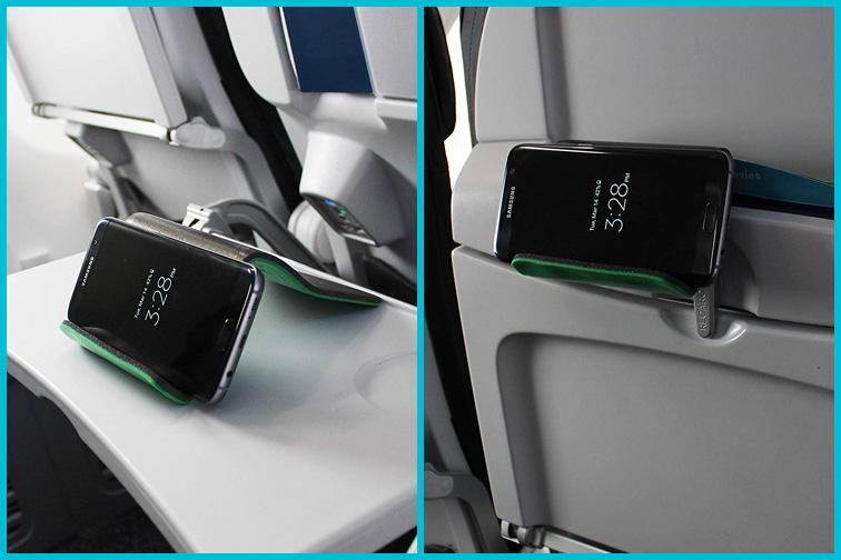 Flight Flap Phone & Tablet Holder; Courtesy of Amazon