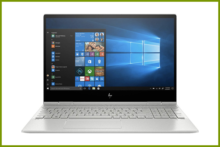 "HP - ENVY x360 2-in-1 15.6"" Touch-Screen Laptop; Courtesy of Best Buy"