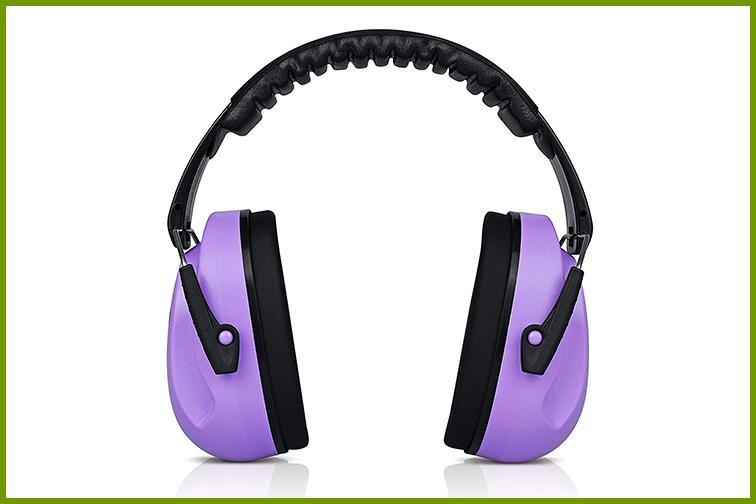 HearTek Kids Ear Protection Noise Reduction Earmuffs