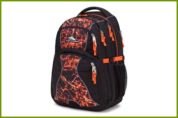 High Sierra Swerve Laptop Backpack; Courtesy of Amazon