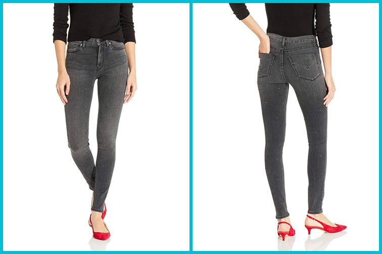 Hudson Jeans Women's Barbara High Waist Super Skinny 5 Pocket Jean; Courtesy of Amazon