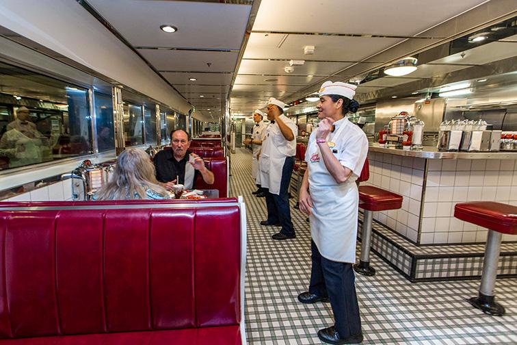 Johnny Rockets – Royal Caribbean Cruise Line; TripAdvisor Expert Photo