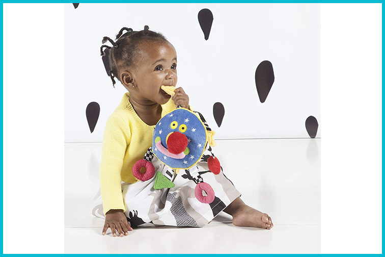 Manhattan Toy Whoozit Activity Spiral Stroller and Travel Activity Toy; Courtesy of Amazon